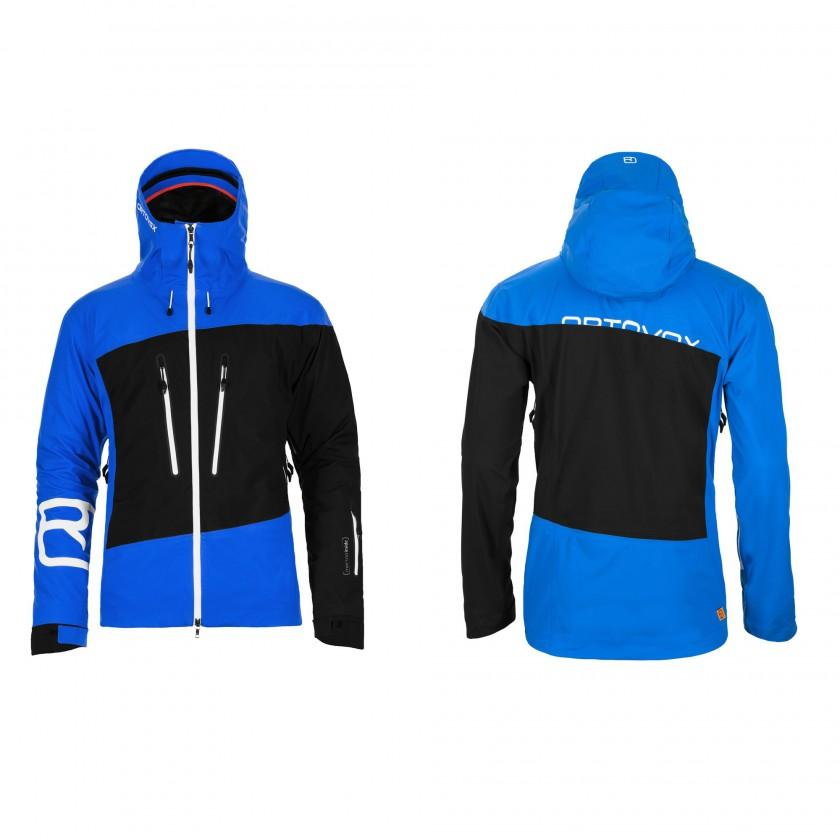 Merino Guardian Shell Jacket Men front/back 2013/14