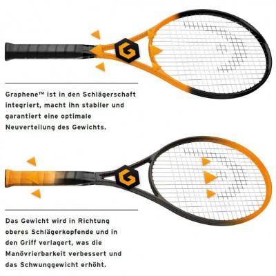 Vorteile der Graphene-Technologie im Head-Tennisschlger 2013