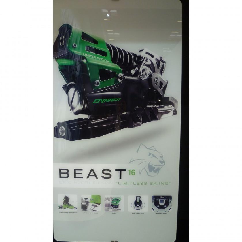 ISPO 2013: Beast 16 Freeride Skibindung - Grafik 2013/14