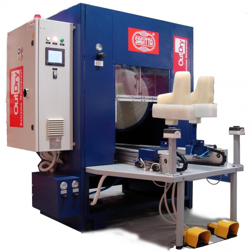 OutDry Maschine in der Membran und Außenmaterial miteinander verbunden werden 2013