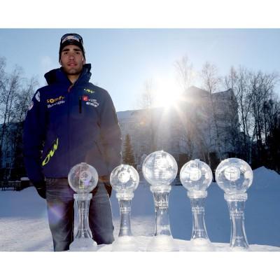 Martin Fourcade gewinnt alle Kristallkugeln in der Biathlon-Weltcup-Saison 2012/13