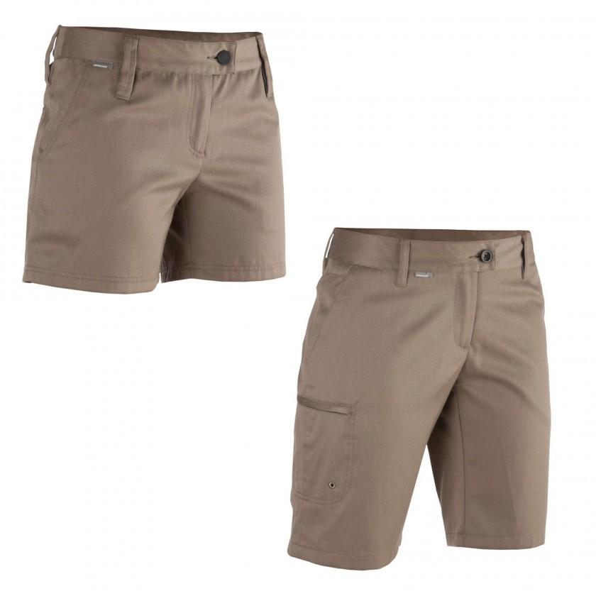Via Shorts und Vista Shorts Women beige 2013 von Icebreaker