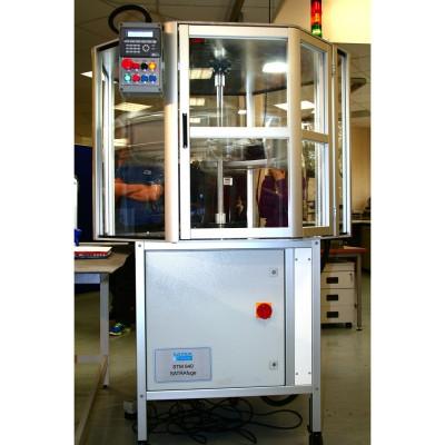 Zentrifuge TM 444 von SATRA - Die neue standardisierte Methode zur berprfung der Wasserdichtigkeit bei Sportschuhen 2013
