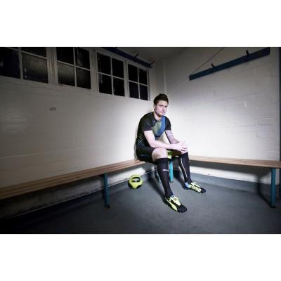 Olivier Giroud Arsenal London im neuen evoSPEED 1.2 FG Fussballschuh 2013 von PUMA