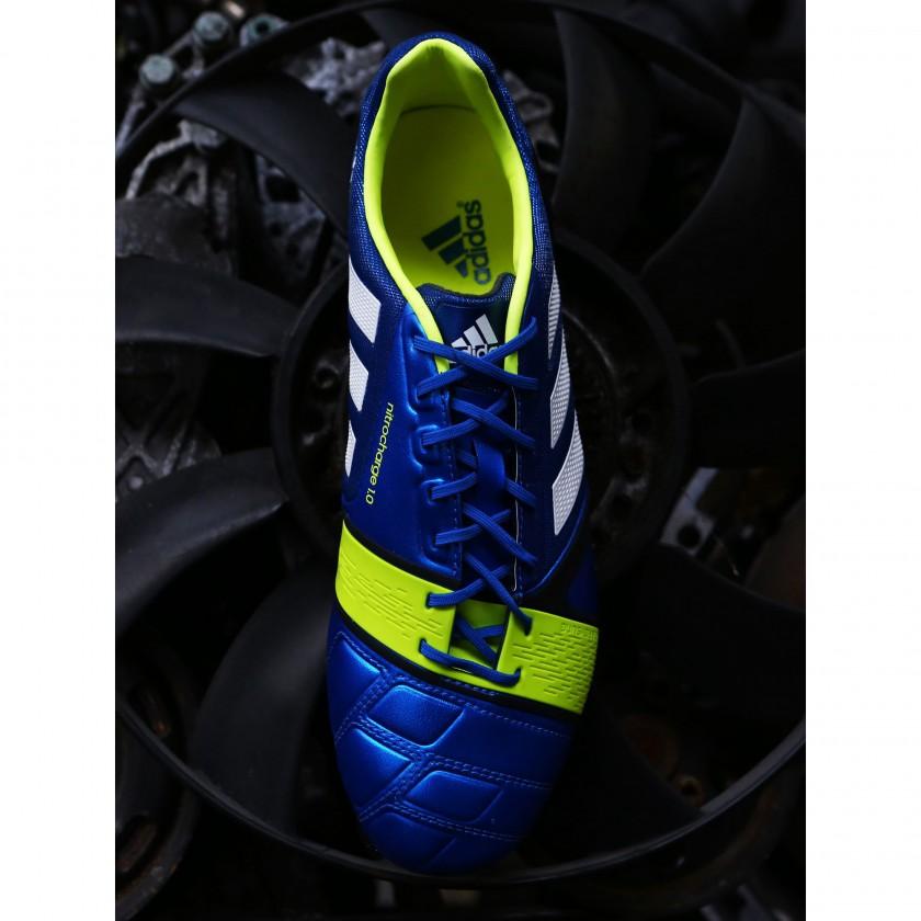 nitrocharge 1.0 Fußballschuh - Der auffällig neon-gelbe ENERGYSLING 2013 von adidas