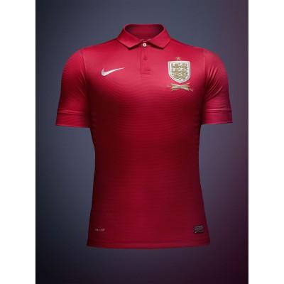 Auswrtstrikot England rot 2013 von Nike