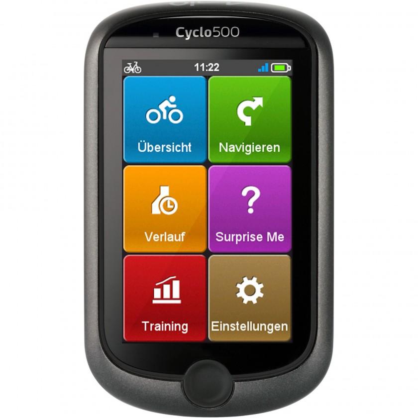 Cyclo 500 GPS-Fahrrad-Navigationsgert - Hauptmen 2013 von Mio