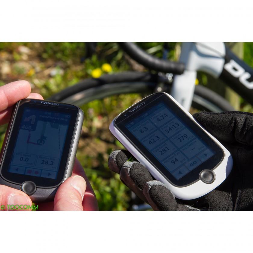 bild cyclo 500 und cyclo 505 gps fahrrad. Black Bedroom Furniture Sets. Home Design Ideas