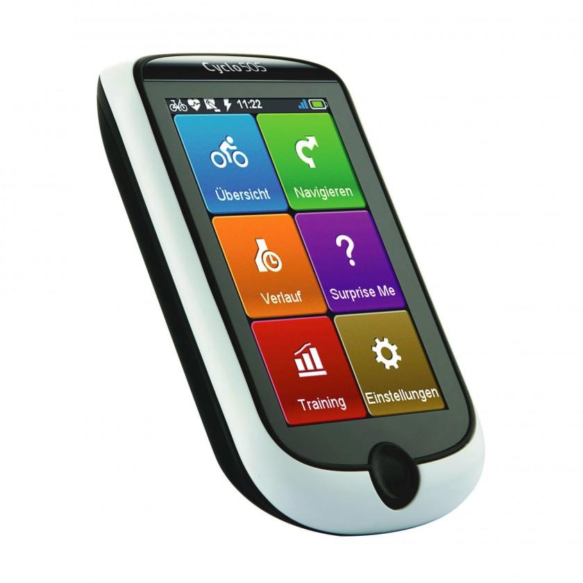 Cyclo 505 GPS-Fahrrad-Navigationsgeräte - Hauptmenü front left 2013 von Mio