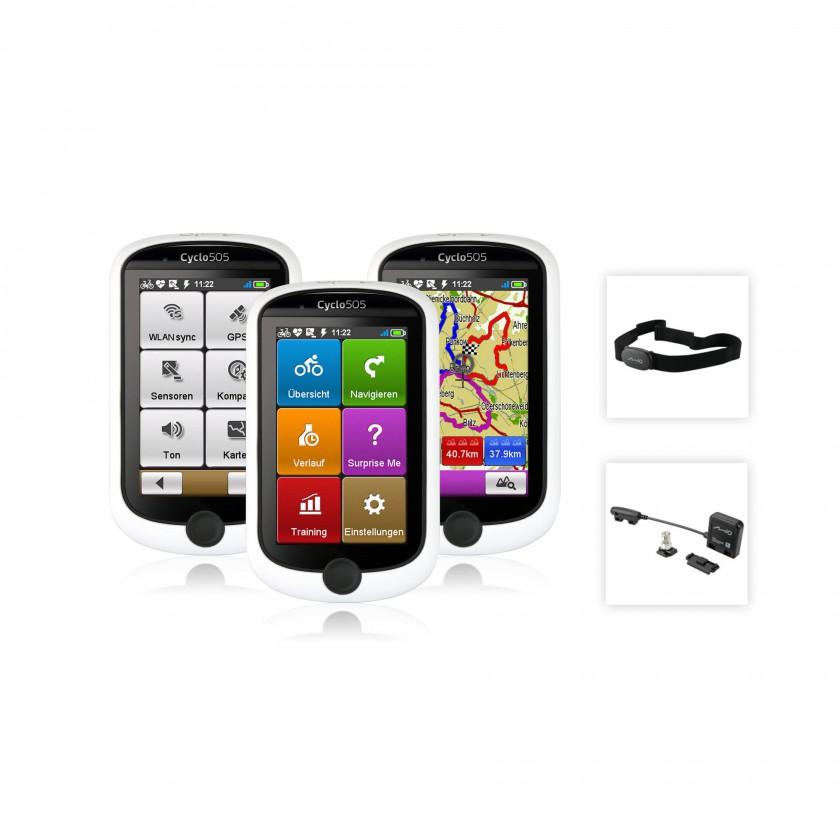Cyclo 505 GPS-Fahrrad-Navigationsgerte und Zubehr 2013 von Mio