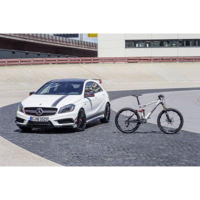 Mercedes-Benz A 45 AMG Edition 1 u. Mountainbike R.X45 AMG 2013 von ROTWILD