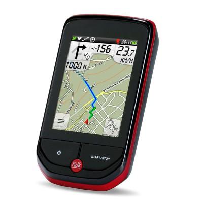 Pantera 32 GPS-Fahrrad-Navigatiosngert - Karte 2013 von FALK