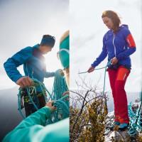 Ducan Softshell Touren-Jacket Men u. Touren-Pants Women - Kletter Action 2014 von VAUDE