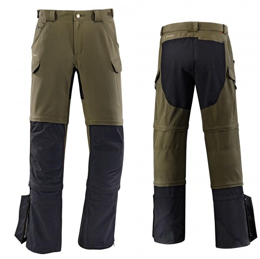 Rokua Gaiter Pants Men front/rear 2014 von VAUDE