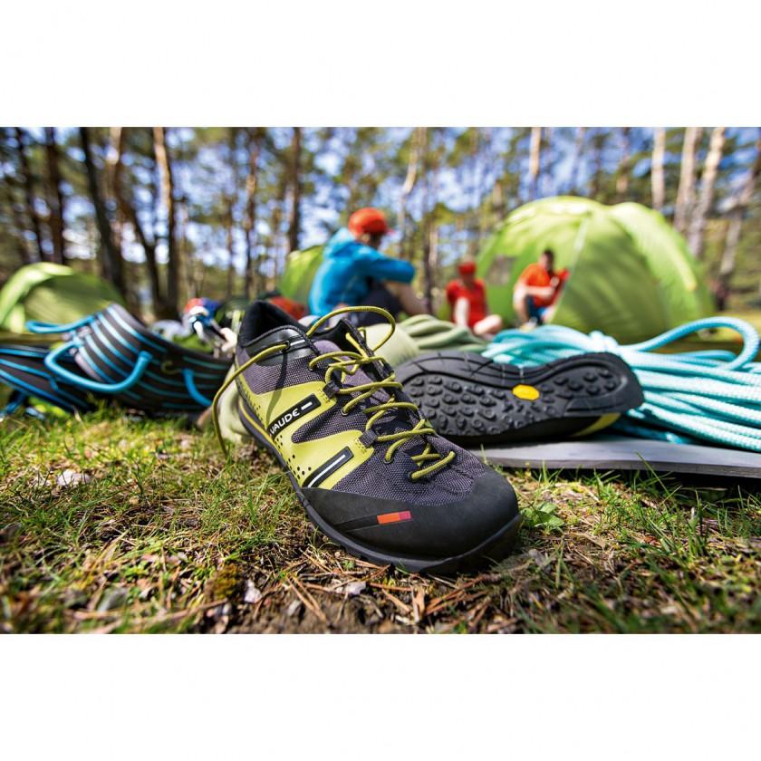 Dibona Pro Zustiegsschuh - front/sole 2014 von VAUDE