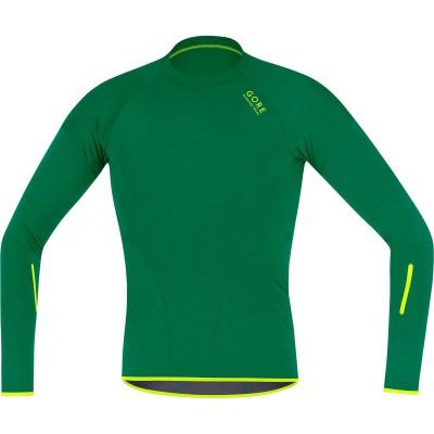 MAGNITUDE COMP Shirt long Men green 2013/14 von GORE RUNNING WEAR