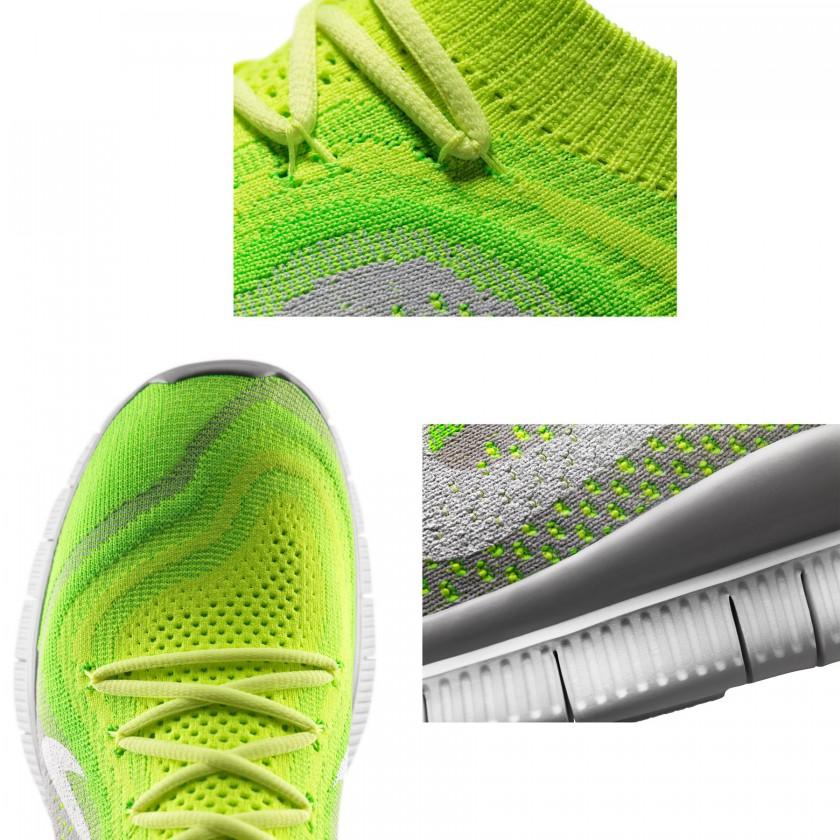 Nike Free Flyknit Laufschuh Men Detailansichten 2013