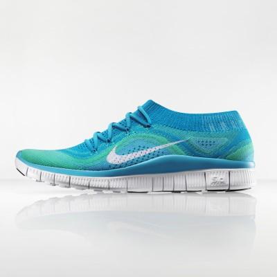 Nike Free Flyknit Laufschuh Women side 2013