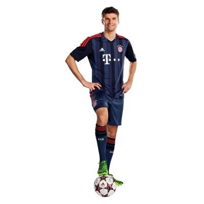 UEFA Champions League Trikot/Kit FC Bayern Mnchen 2013/14 von adidas: Thomas Mller