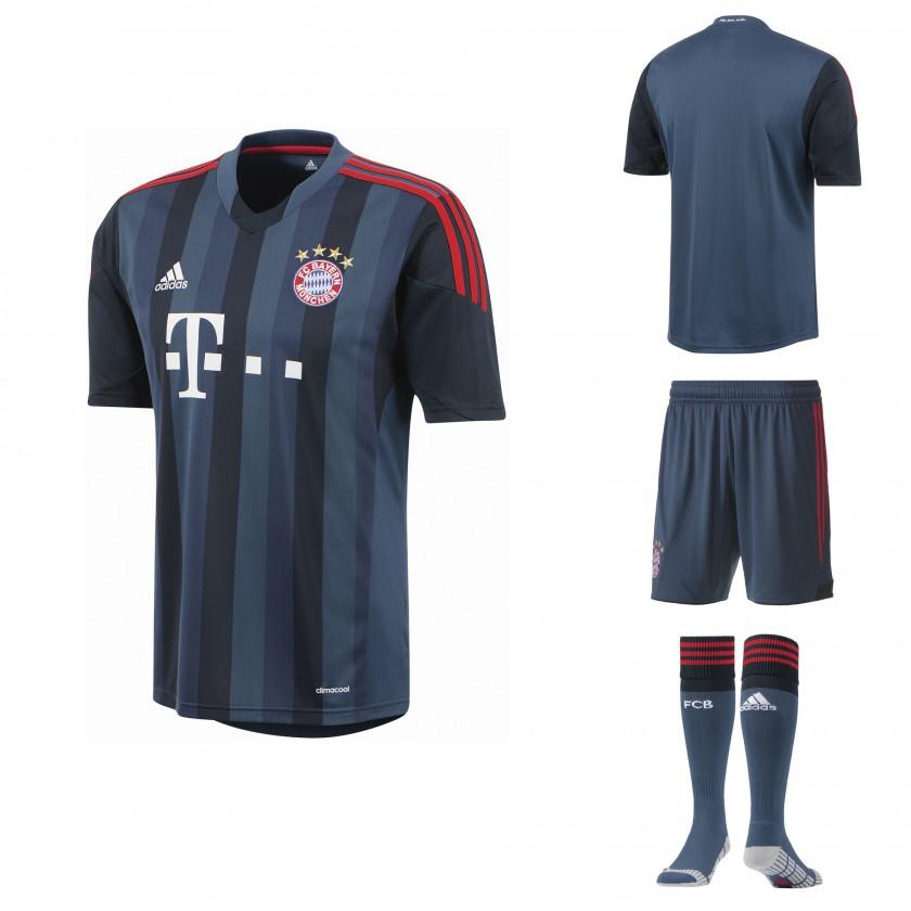 Bild: UEFA Champions League TrikotKit FC Bayern München
