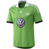 VfL Wolfsburg Auswrts-Trikot Fussball Bundesliga-Saison 2013/14 von adidas