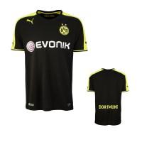 Borussia Dortmund - Auswrts-Trikot Fussball-Bundesliga Saison 2013/14 von PUMA