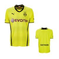 Borussia Dortmund - Heim-Trikot Fussball-Bundesliga Saison 2013/14 von PUMA