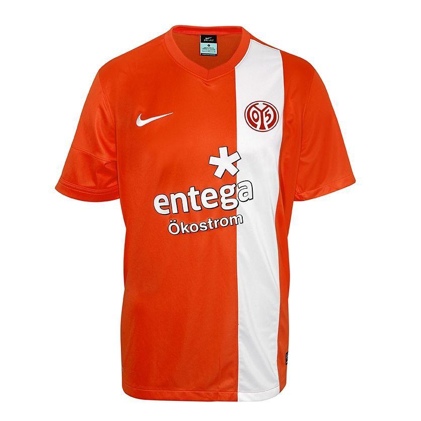 Bild mainz 05 heim trikot fussball bundesliga saison for Bundesliga trikots