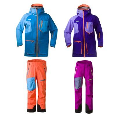 Hodlekve Freeride Jacket und Pants Men/Women 2013/14 von BERGANS