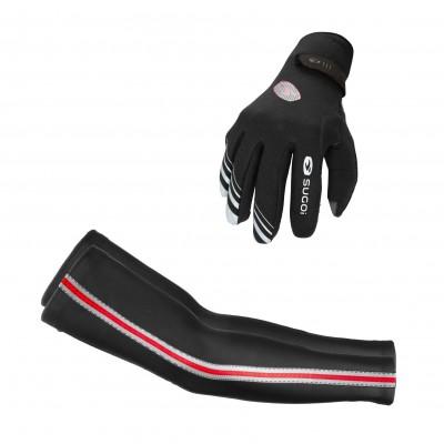 RS Rain Glove u. Zap Arm Warmer 2013/14 von SUGOI