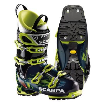 Freedom SL Skischuh mit Vibram Mountain Plus Sohle 2013/14 von SCARPA