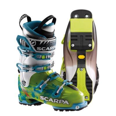 Freedom Skischuh mit Vibram Mountain Piste Sohle 2013/14 von SCARPA