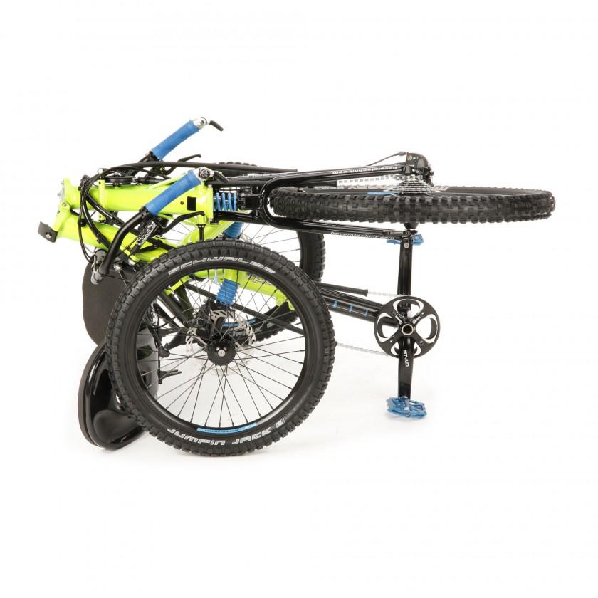 Scorpion fs Enduro Trike gefaltet 2014 von HP Velotechnik