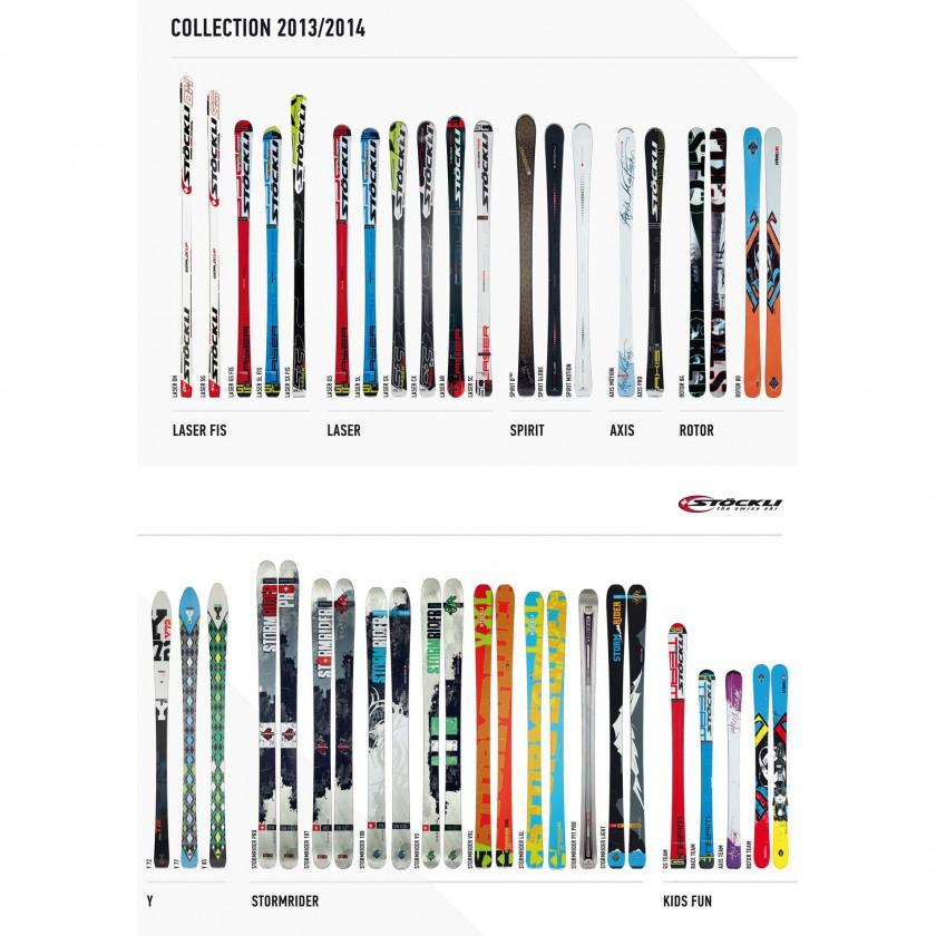 Komplette Ski-Kollektion 2013/14 von STCKLI