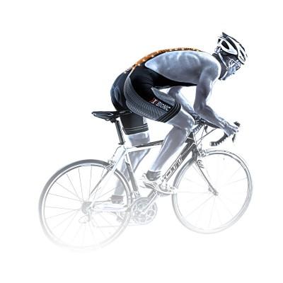 THE TRICK Bike Bib Tight short Men Rennrad-Action mit THE TRICK Technologie 2014 von X-BIONIC