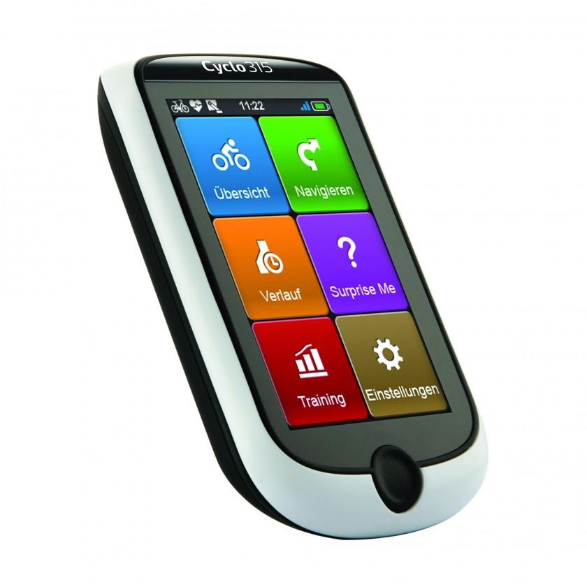Mio Cyclo 315 HC GPS-Radcomputer mit Navigation 2013 von MIO