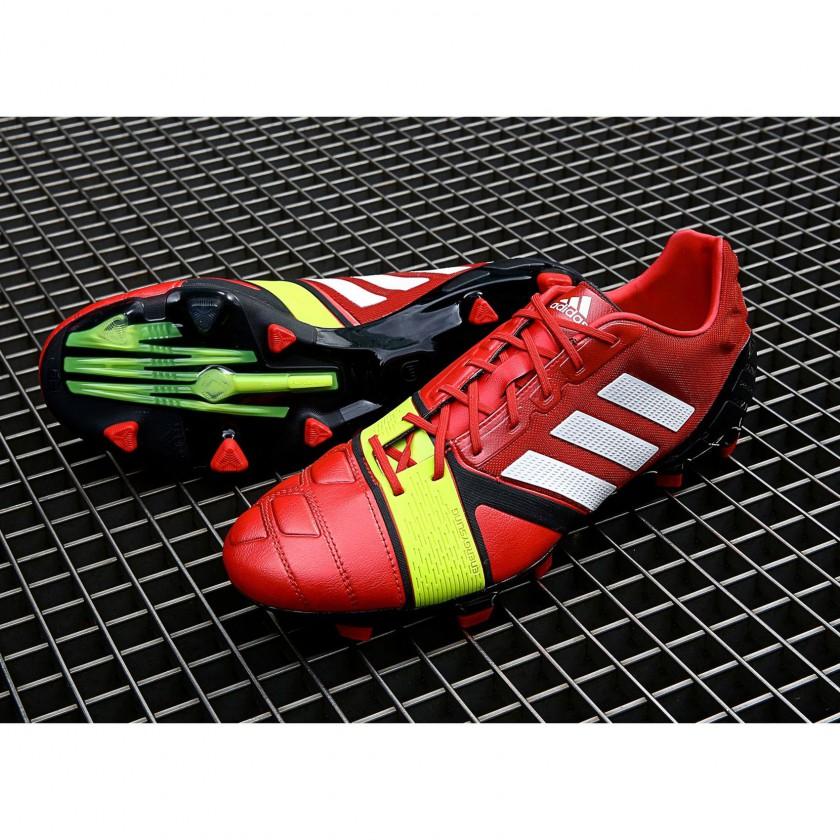 Nitrocharge 1.0 Fussballschuhe Champions League Edition red 2013 von adidas