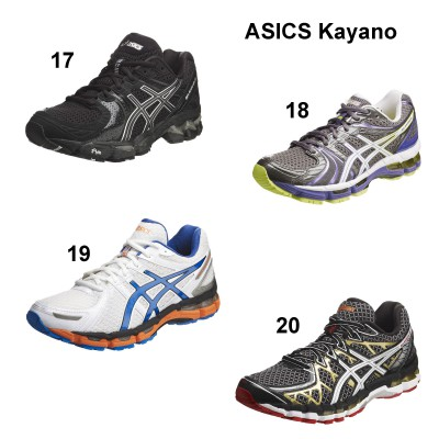 ASICS GEL-KAYANO Version 17 - 20