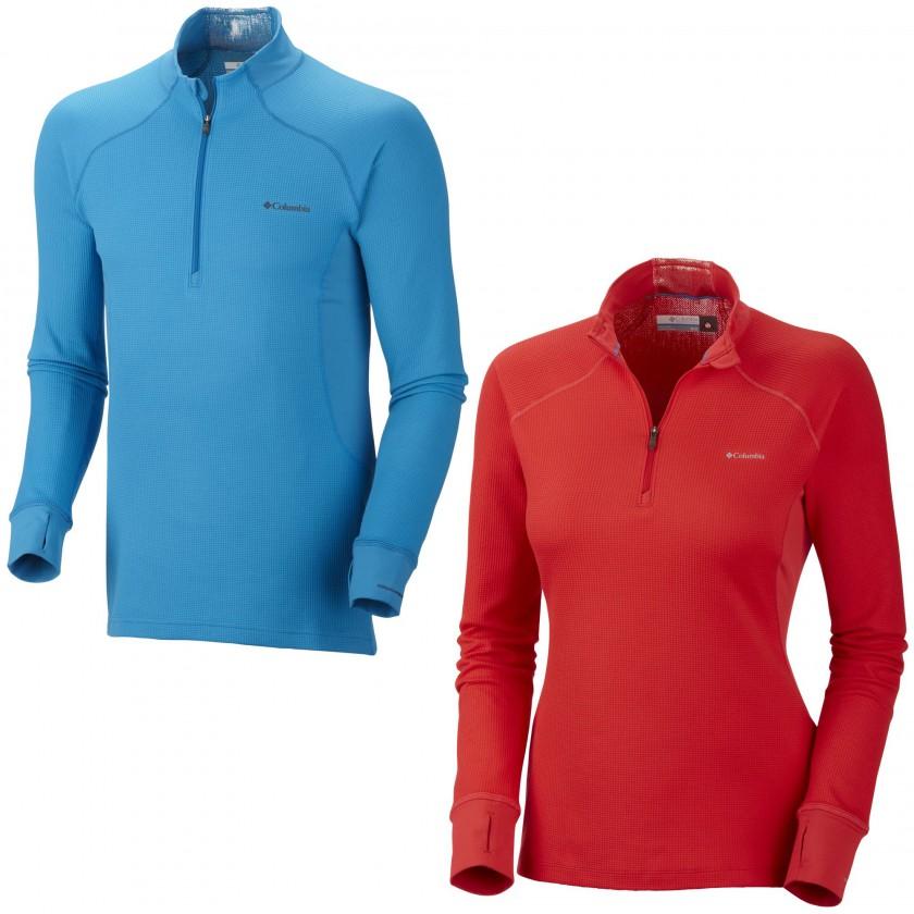Heavyweight-Shirt Half-Zip Baselayer Men/Women 2013/14 von COLUMBIA Sportswear