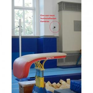Videosystem utilius kiwano von ccc software wurde in der Schärttner-Halle der Universität Leipzig installiert