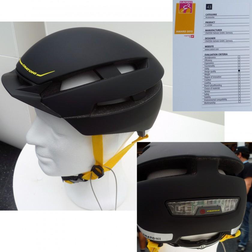 Eurobike Award Gewinner 2013: Kategorie Design Qualität - C-LOOM Fahrradhelm von CRATONI