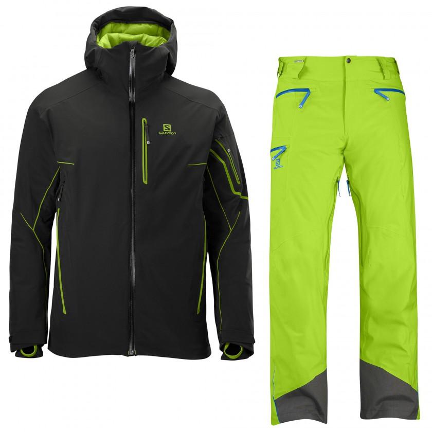 S-Line Motion Fit Ski-Jacket und Pant 2013/14 von Salomon