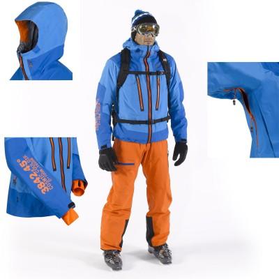 Cosmic Couloir GTX Jacket und Pant Men - Details 2013/14 von MILLET