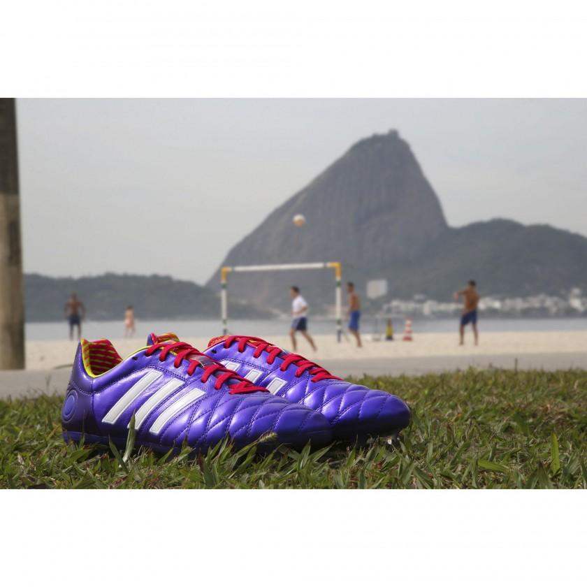 adipure 11pro Fussballschuhe - Samba Edition violett 2013 von adidas