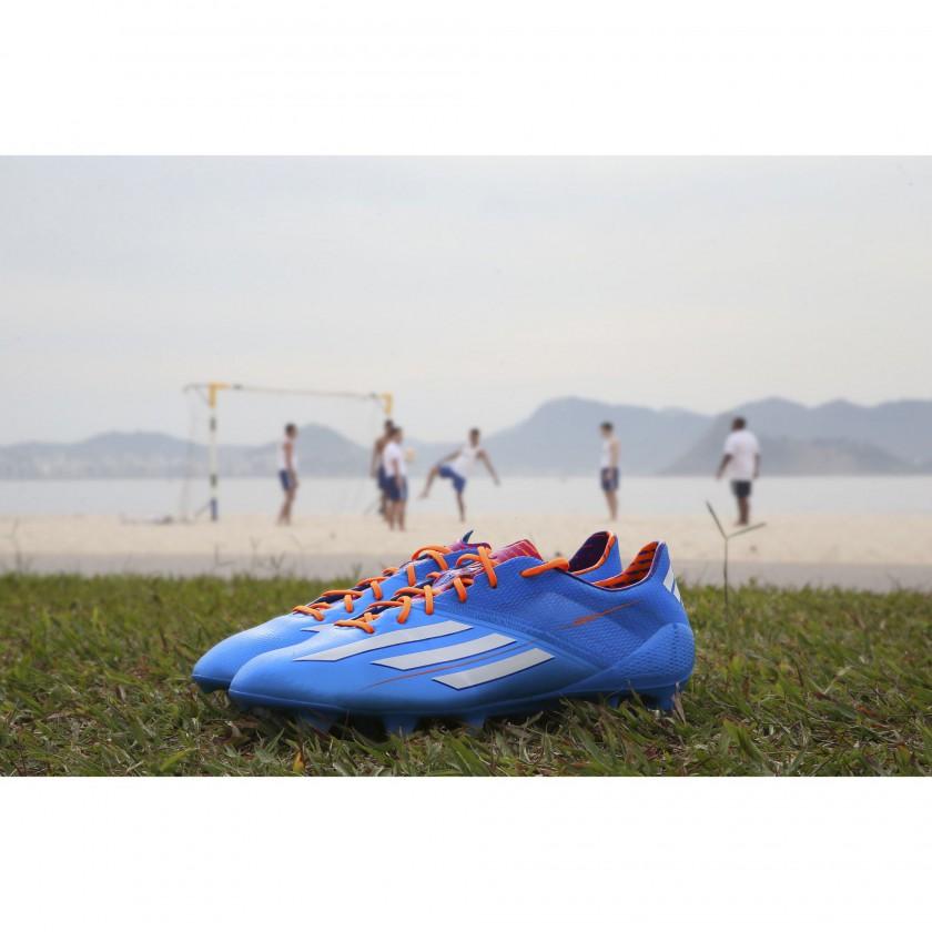 adizero F50 Fussballschuhe - Samba Edition blau 2013 von adidas