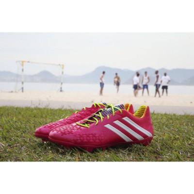 Predator LZ Fussballschuhe - Samba Edition pink 2013 von adidas