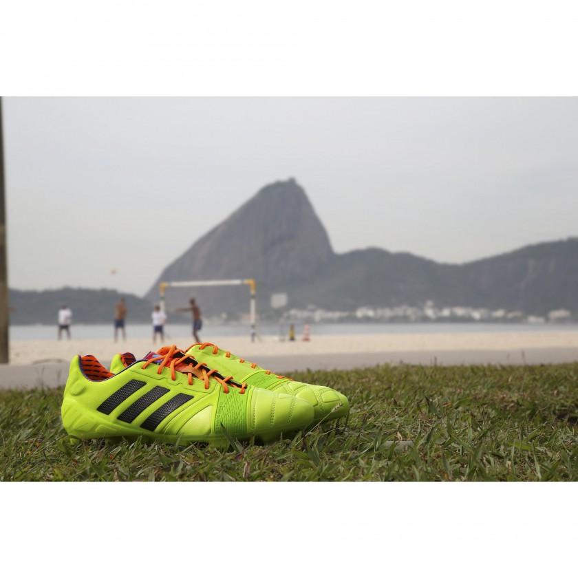 nitrocharge 1.0 Fussballschuhe - Samba Edition hellgrün 2013 von adidas