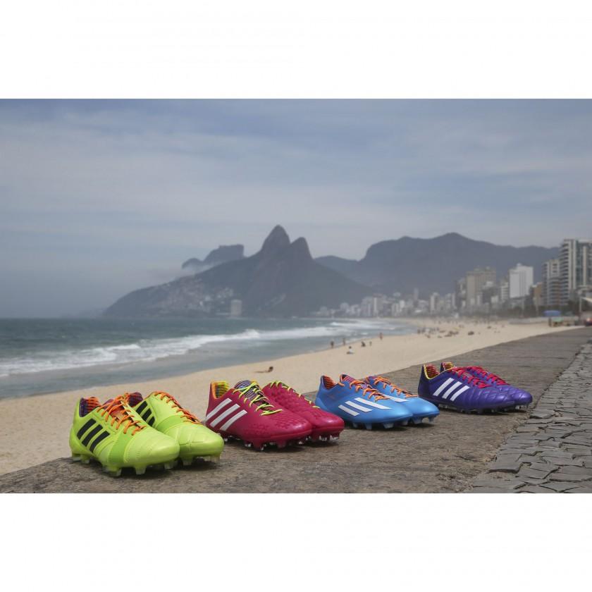 nitrocharge, Predator LZ, adizero F50 und adipure 11pro Fussballschuhe - Samba Edition 2013 von adidas