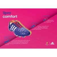 adipure 11pro Fussballschuhe - Samba Edition violett Tech Sheet 2013 von adidas
