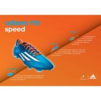 adizero F50 Fussballschuh - Samba Edition blau Tech Sheet 2013 von adidas